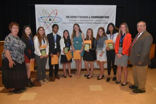Top Nine HS. 2019 Science Congress winners