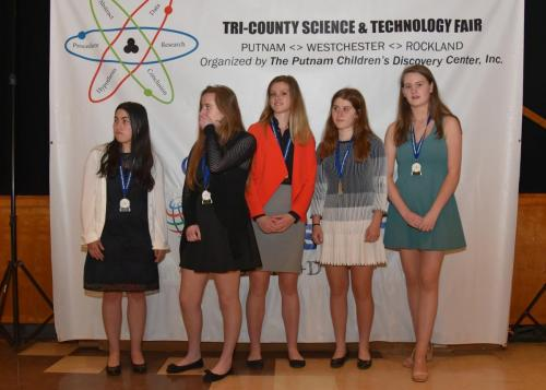 Science congress winners